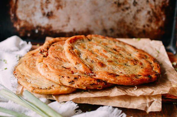 China:cong you bing or Scallion Pancakes