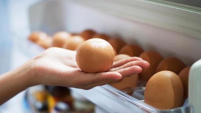 Eggs in a Refrigerator