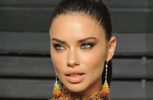 Adriana Lima Does Not Start the Day Without This Drink