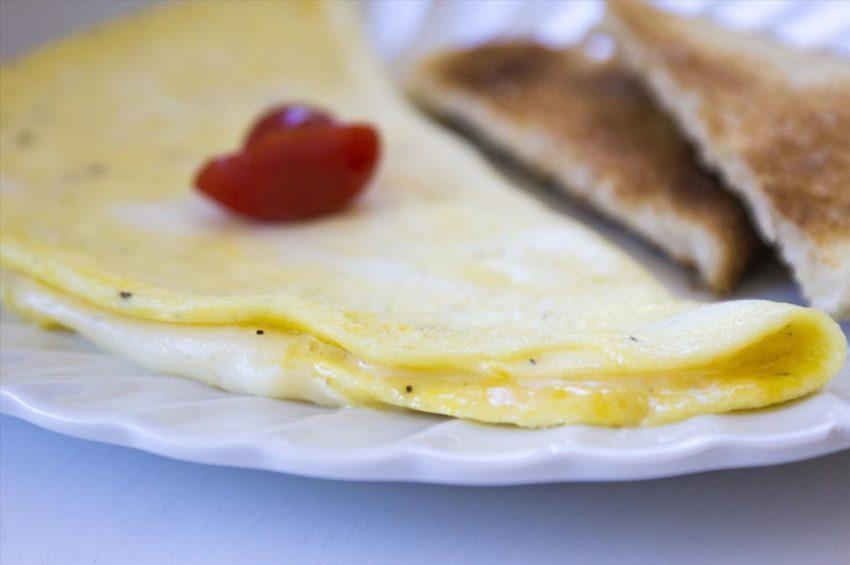 Don't flip the omelet