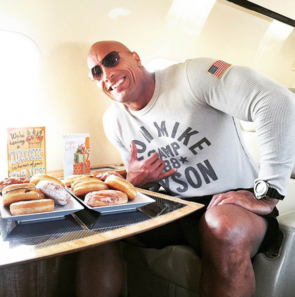 Eat like Dwayne The Rock Johnson