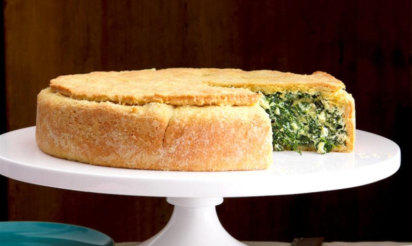 Go Greens! Italian Kale Pie