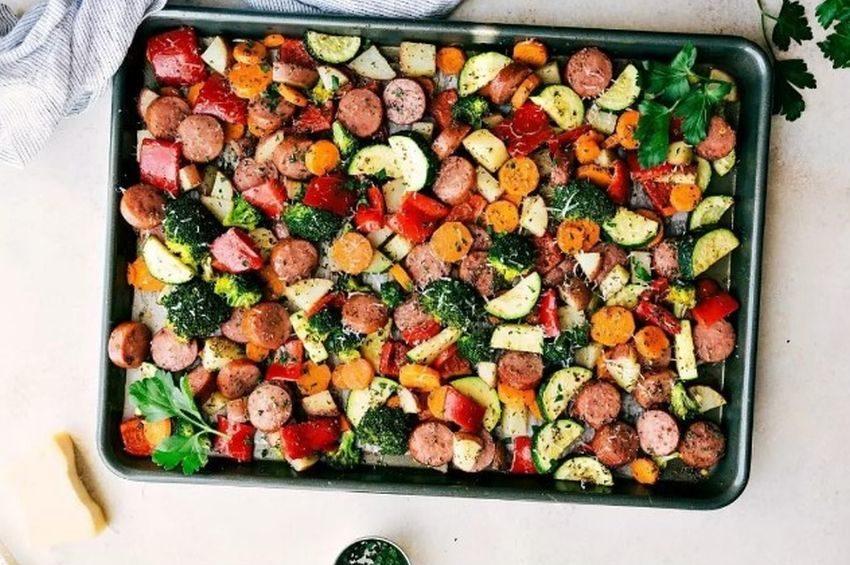 One-Pan Italian Sausage and Veggies