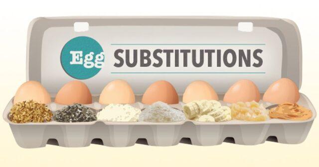Substitute eggs