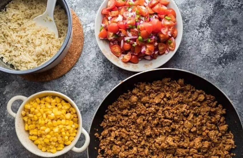 Turkey Taco Bowls