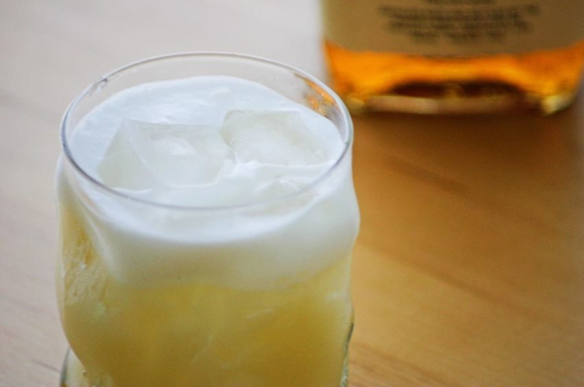 Use egg white for a creamy cocktail