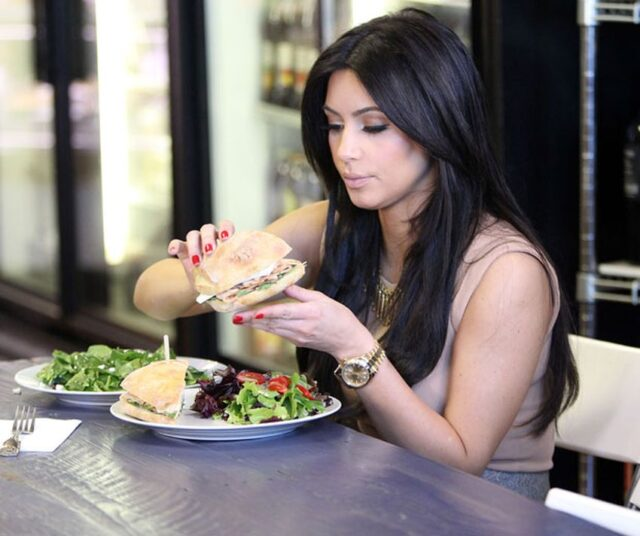 kim k diet and exercise plan 2018